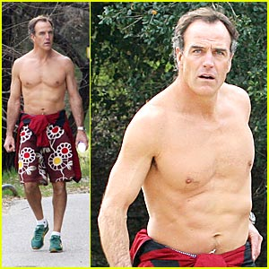 Richard Burgi is Shirtless