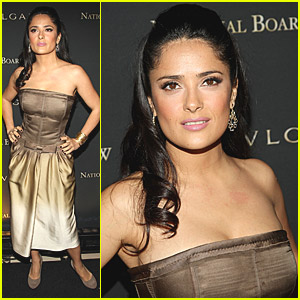 Salma Hayek is a National Board Babe