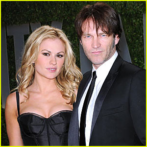 Anna Paquin & Stephen Moyer Couple Up