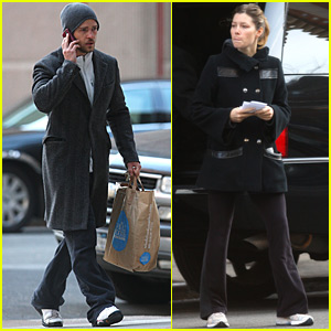 Justin Timberlake and Jessica Biel: New New Yorkers