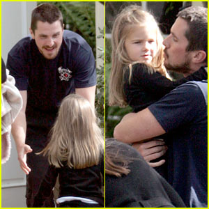 Christian Bale: Doting Dad