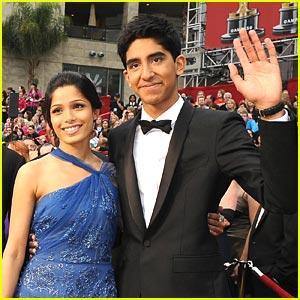 Freida Pinto & Dev Patel -- Oscars 2009