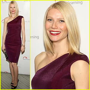 Gwyneth Paltrow is Bent on Learning