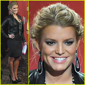 Jessica Simpson: ACMA Announcer!