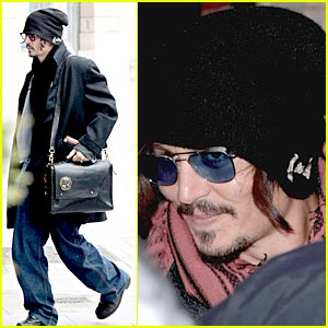 Johnny Depp: Brasserie Lipp Lover