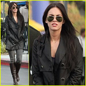 Megan Fox Dines At A Cool Cafe