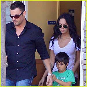 Megan Fox Mothers Kassius Green