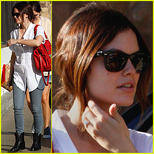 Rachel Bilson's Engagement Ring: FIRST LOOK!