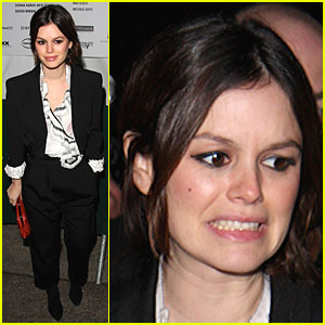 Rachel Bilson Gets Zac Posen Pretty
