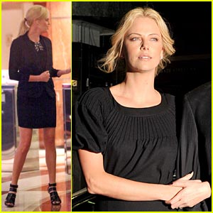 Charlize Theron is Burnin' Up For You Baby