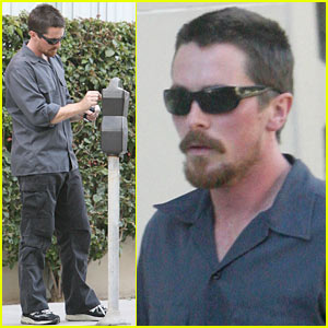 Christian Bale is The Meter Man
