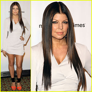 Fergie Marches For Dimes