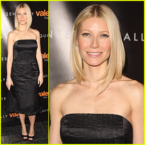 Gwyneth Paltrow Votes Valentino
