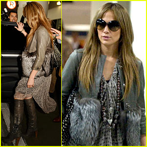 Jennifer Lopez Goes Thomas Wylde Wild