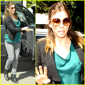 Jessica Biel Is Longing For Lunch