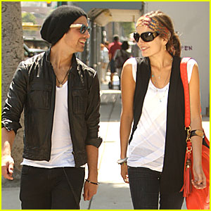 Joe Jonas & Camilla Belle Return to Urth