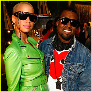 Kanye West & Amber Rose: Fashion Week Fierce
