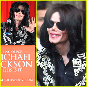 Michael Jackson Announces Comeback Tour!