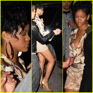 Rihanna is a Les Deux Darling
