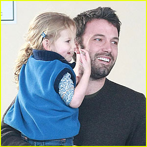 Violet Affleck: Like Father, Like Daughter!