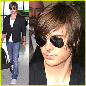 Zac Efron Leaves London