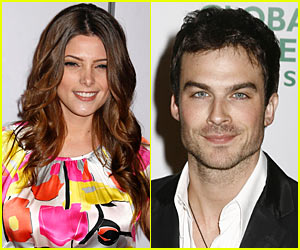 Ashley Greene & Ian Somerhalder Couple Up