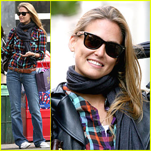 Bar Refaeli is Plaid Picturesque