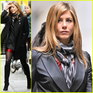 Jennifer Aniston is All Baster Business