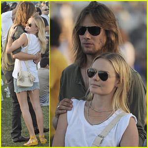 Kate Bosworth is a Coachella Cuddler