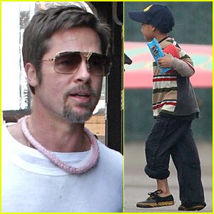 Maddox Jolie-Pitt is GANGSTA