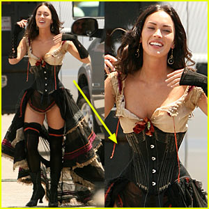 Megan Fox: HOLY CORSET WAIST!