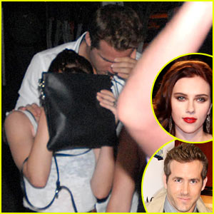Scarlett Johanssonryan Reynolds on Scarlett Johansson And Husband Ryan Reynolds Cover Up Their Faces