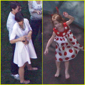Suri Cruise: Trampoline Birthday!