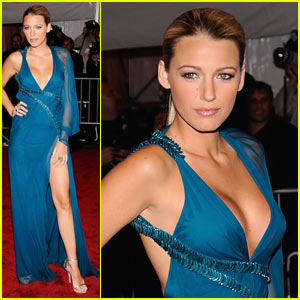Blake Lively - MET Costume Institute Gala 2009