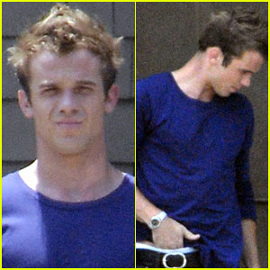 Cam Gigandet Digs Deep On The Set