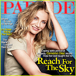 Cameron Diaz Covers Parade Magazine