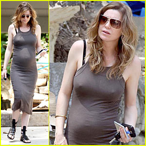 Ellen Pompeo's Got Construction Cravings