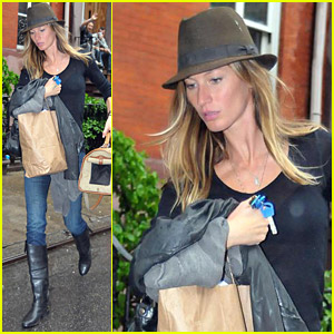 Gisele Bundchen Goes Greenwich