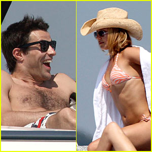 Hayden Panettiere & Steve Jones: Boat