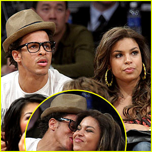 Jordin Sparks & Steph Jones: Courtside Couple