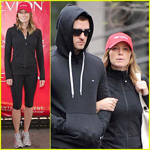 Justin Timberlake & Jessica Biel: Revlon Walkers