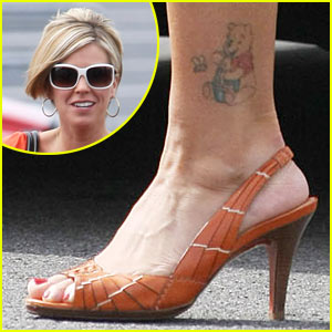 Kate Gosselin: Peep My Winnie The Pooh Tattoo!