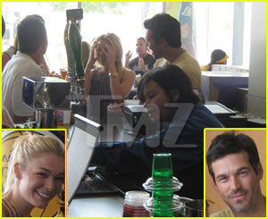 LeAnn Rimes &#038; Eddie Cibrian: LA Laker Lovers?