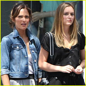 Leighton Meester Is Ready For Her Roommate