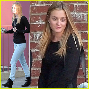 Leighton Meester Tests The Roommate