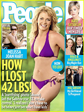 Bikini Babe Melissa Joan Hart Covers People Magazine