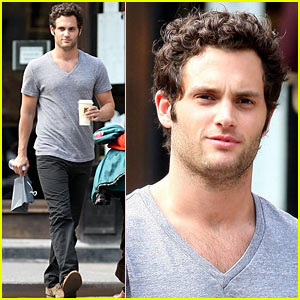 Penn Badgley Gets His Coffee Kick