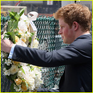 Prince Harry Goes To Ground Zero