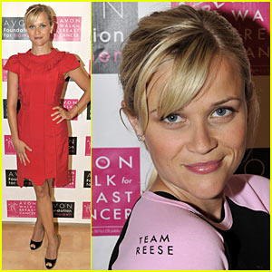 Reese Witherspoon Walks For Breast Cancer