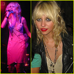 Taylor Momsen Is Pretty Reckless At The Annex